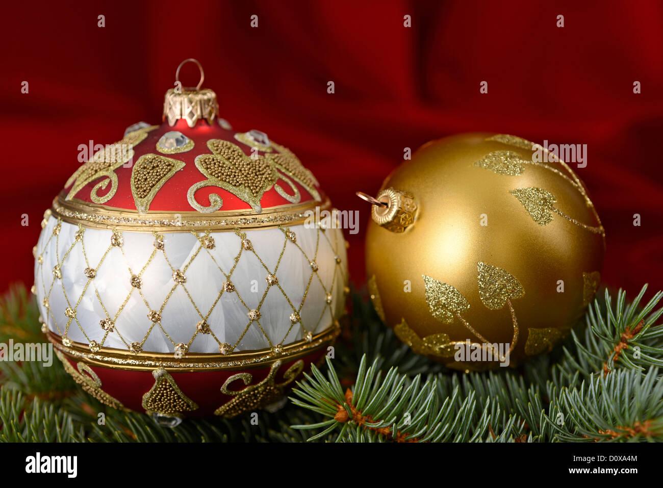 Christmas Ornaments - Stock Image