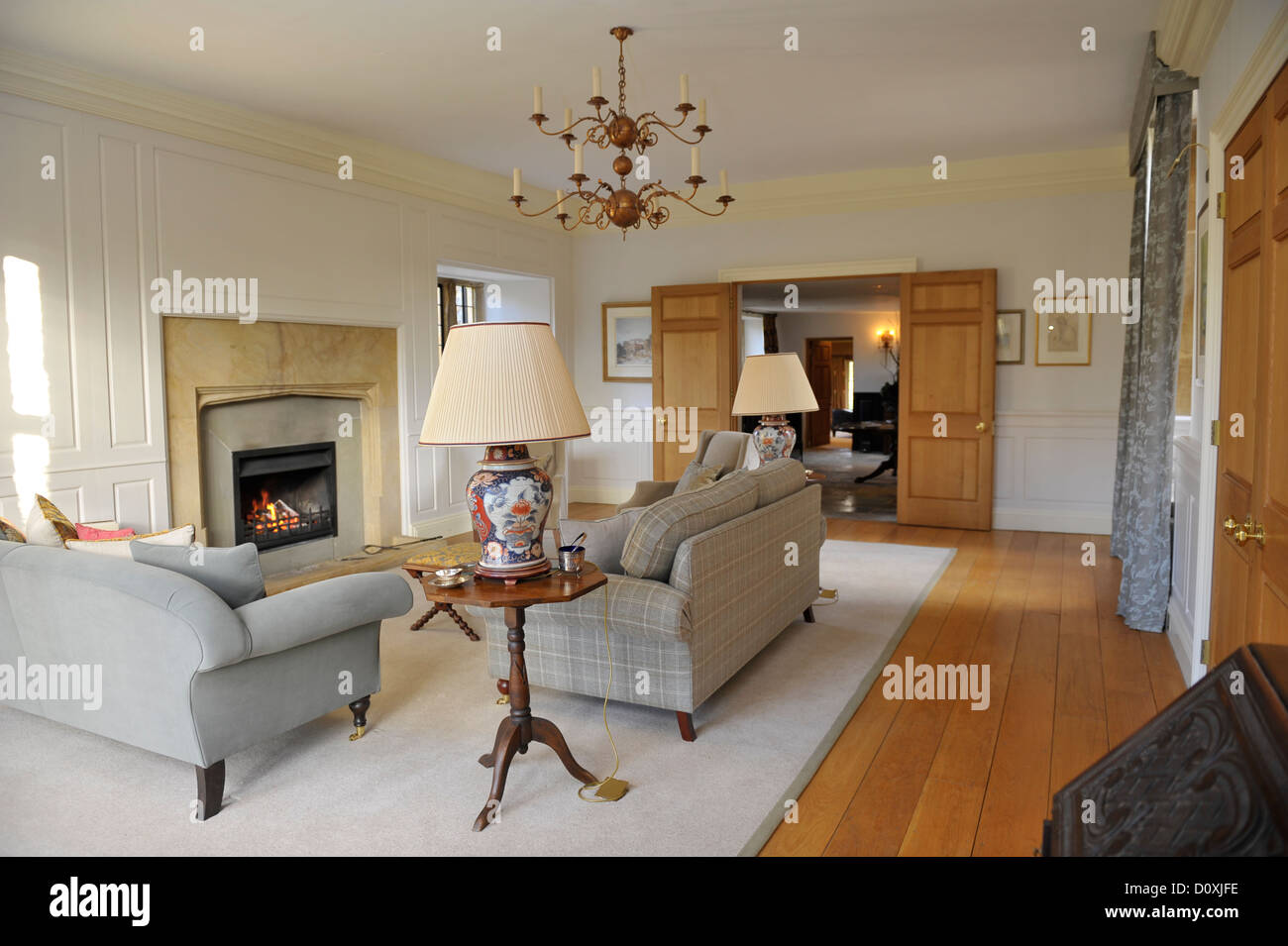 Country Lounge Room High Resolution Stock Photography And Images Alamy