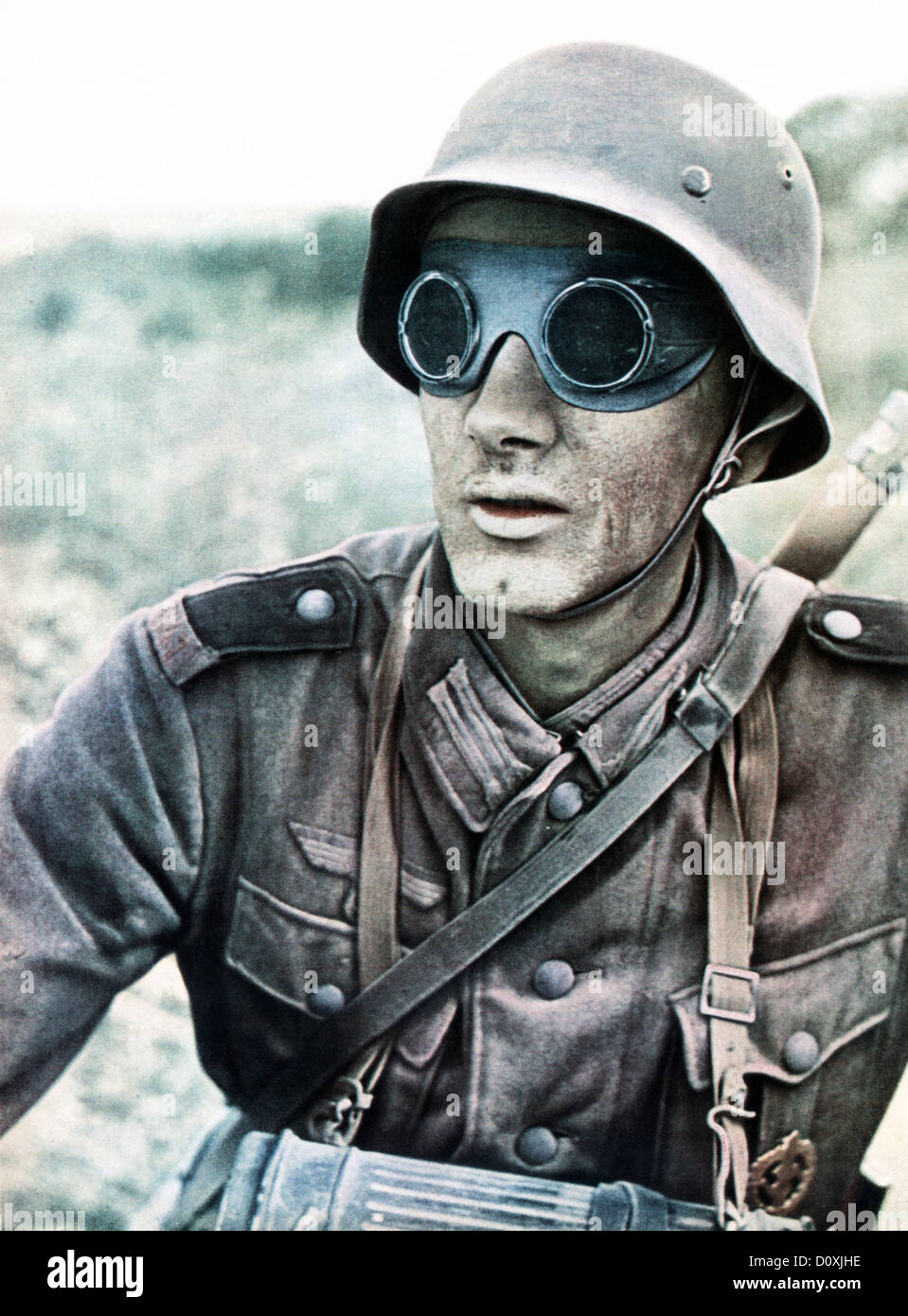 Motorcycle, Dispatch Rider, soldier protective, glasses ...