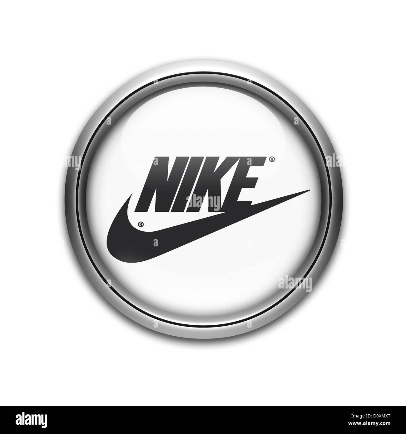 Nike Logo Symbol Flag Icon Stock Photos Nike Logo Symbol Flag Icon