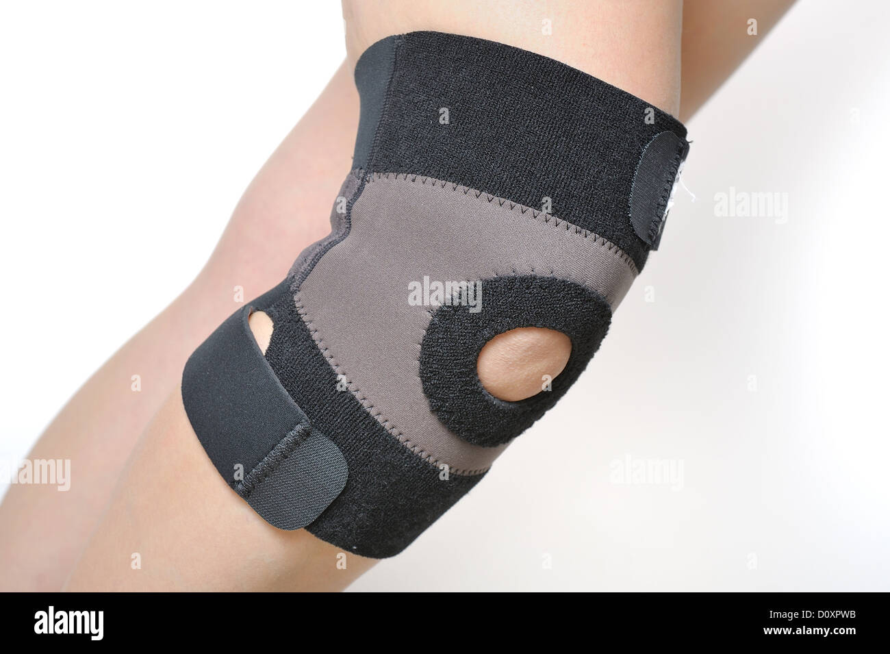 knee support - Stock Image