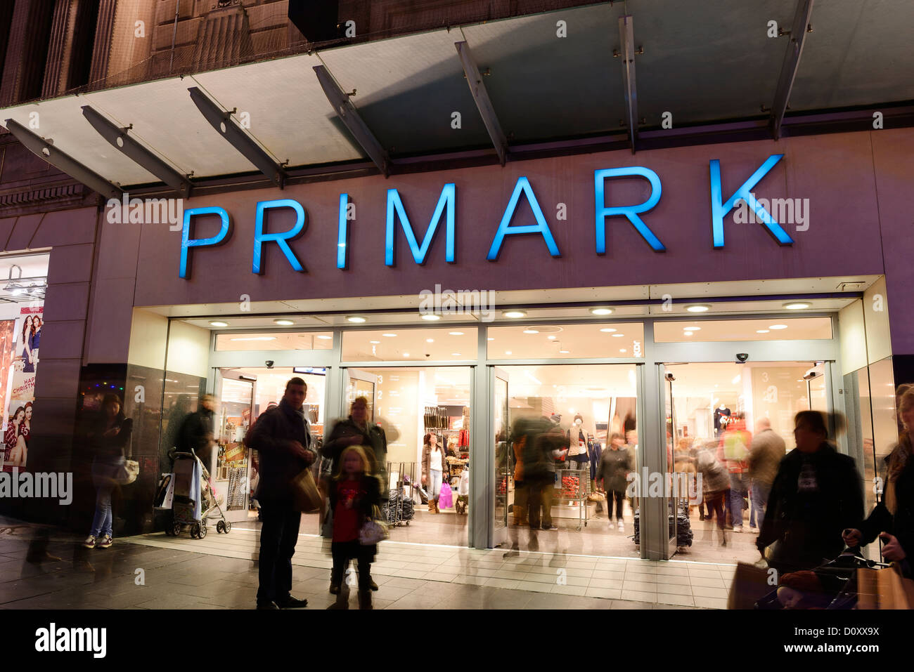 Shoppers at the Liverpool Primark store - Stock Image