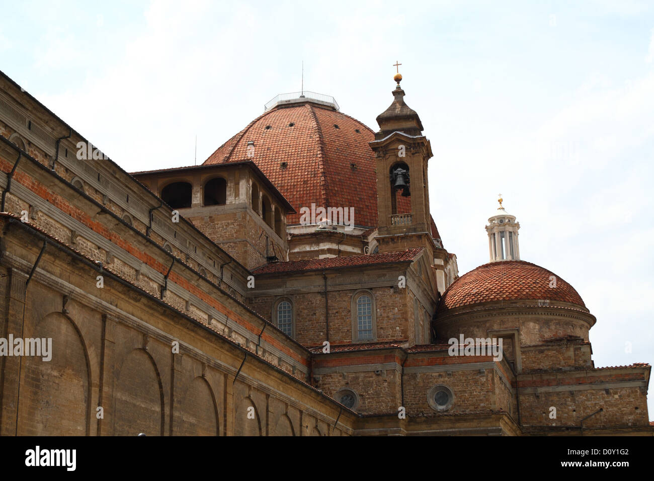 Cupola of a medieval Building in Florence, Tuscany, Italy Stock Photo