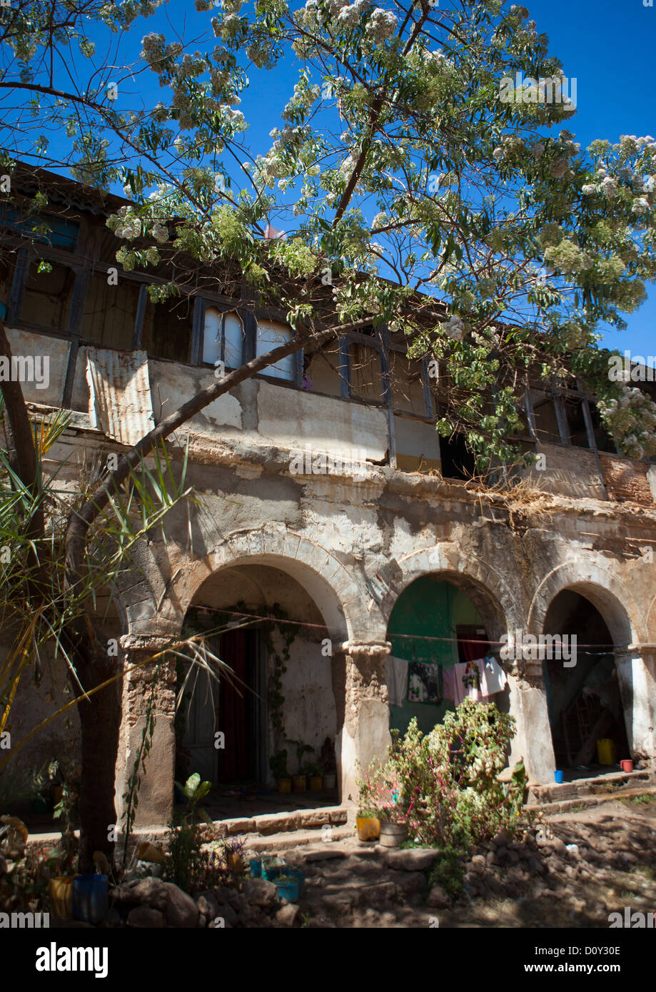 Old House In Harar, Ethiopia - Stock Image