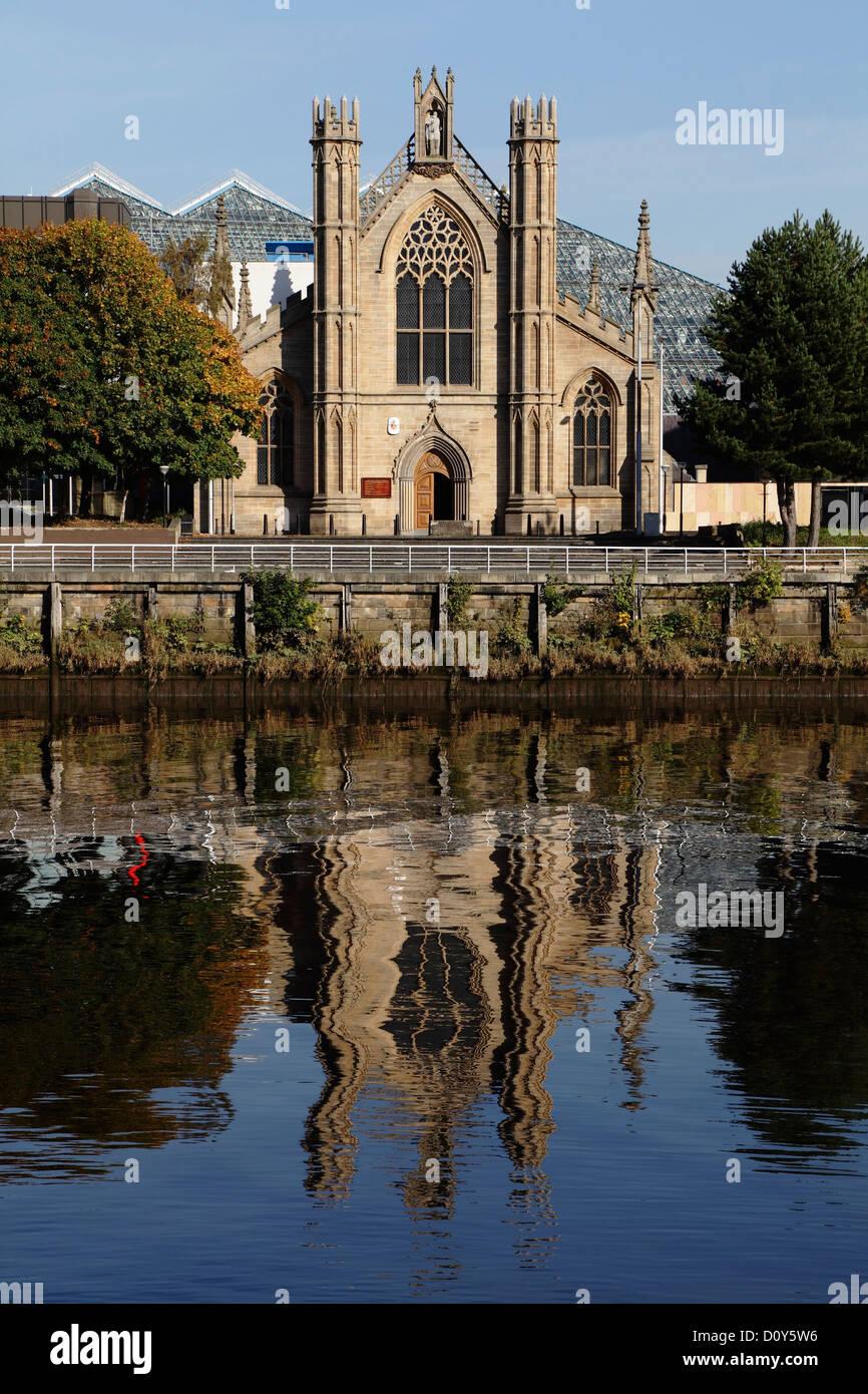 St Andrew's Roman Catholic Cathedral, Glasgow, Scotland, UK - Stock Image