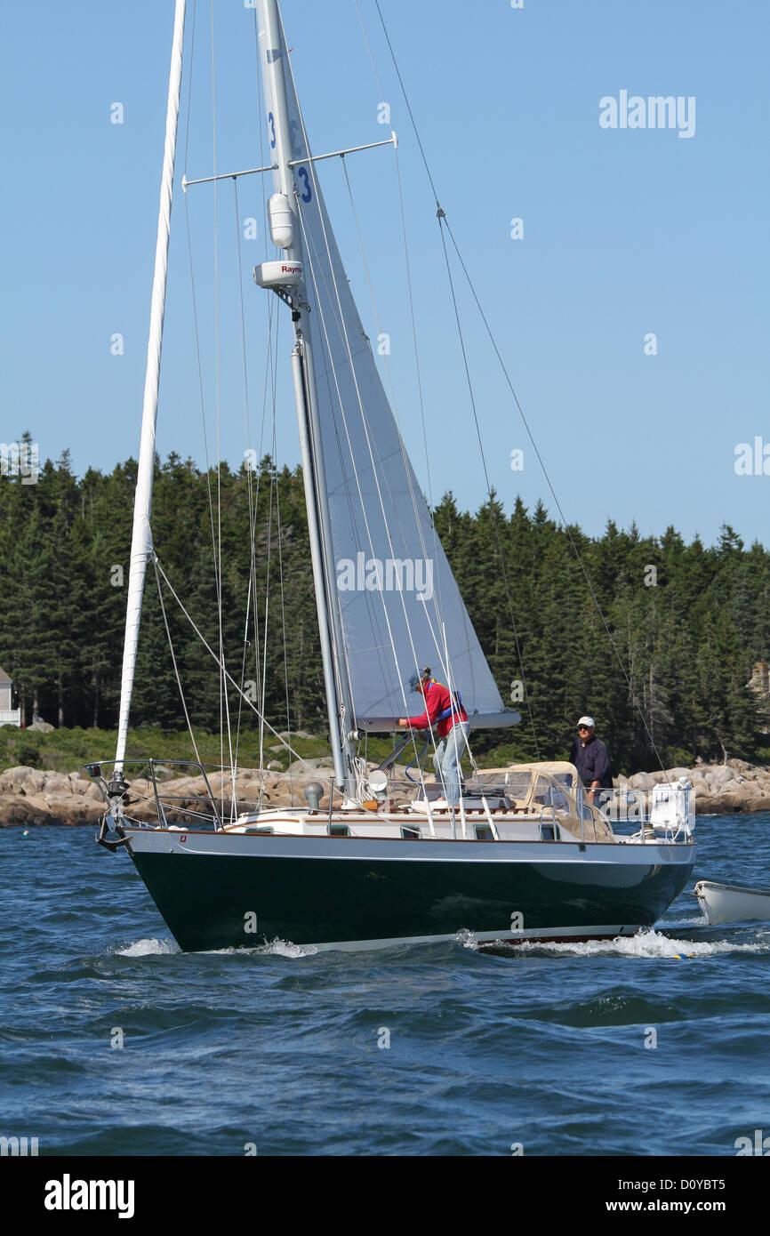 Sailing Yacht POLARIS - Stock Image
