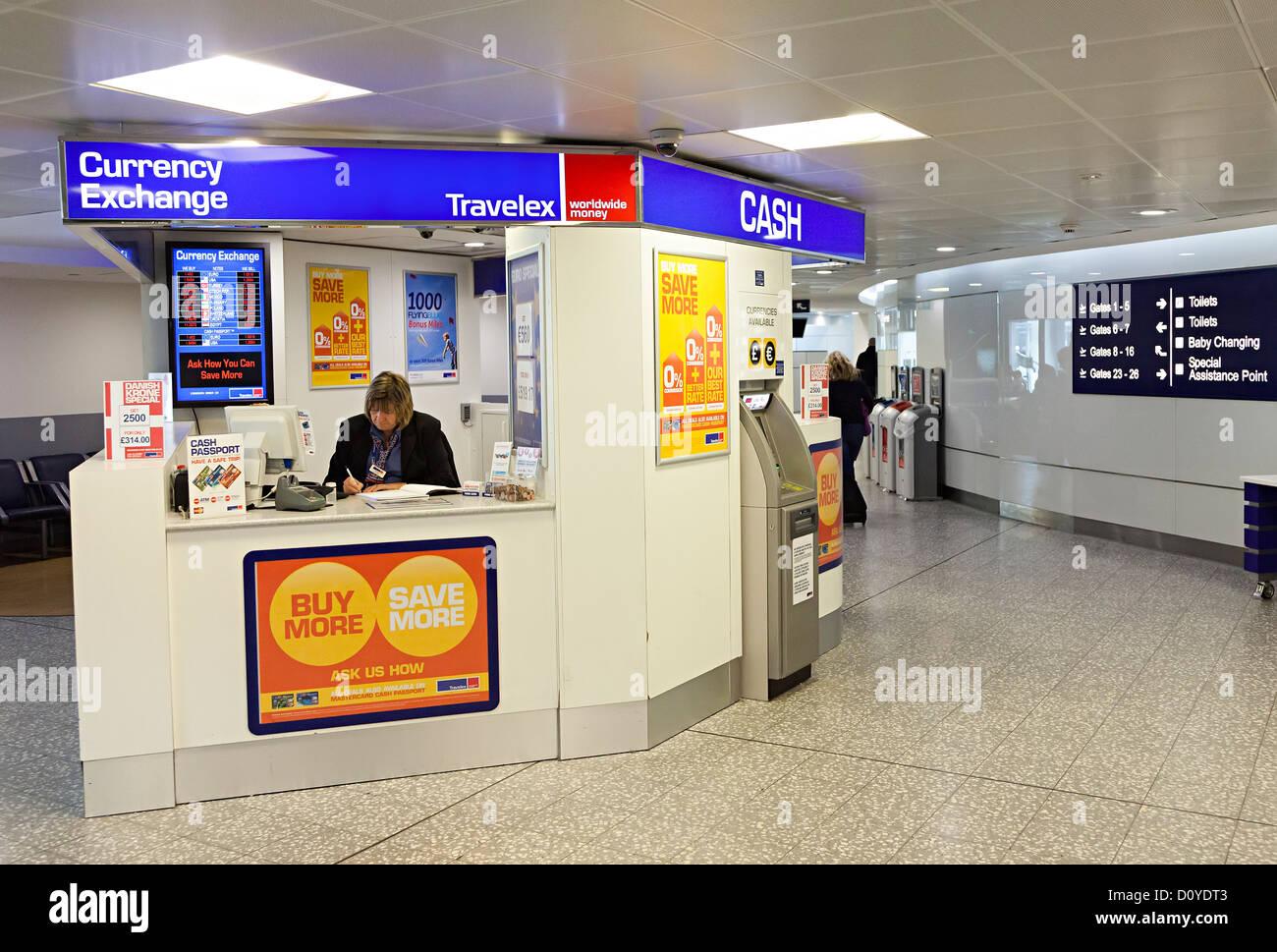 Bureau De Change Bristol Airport