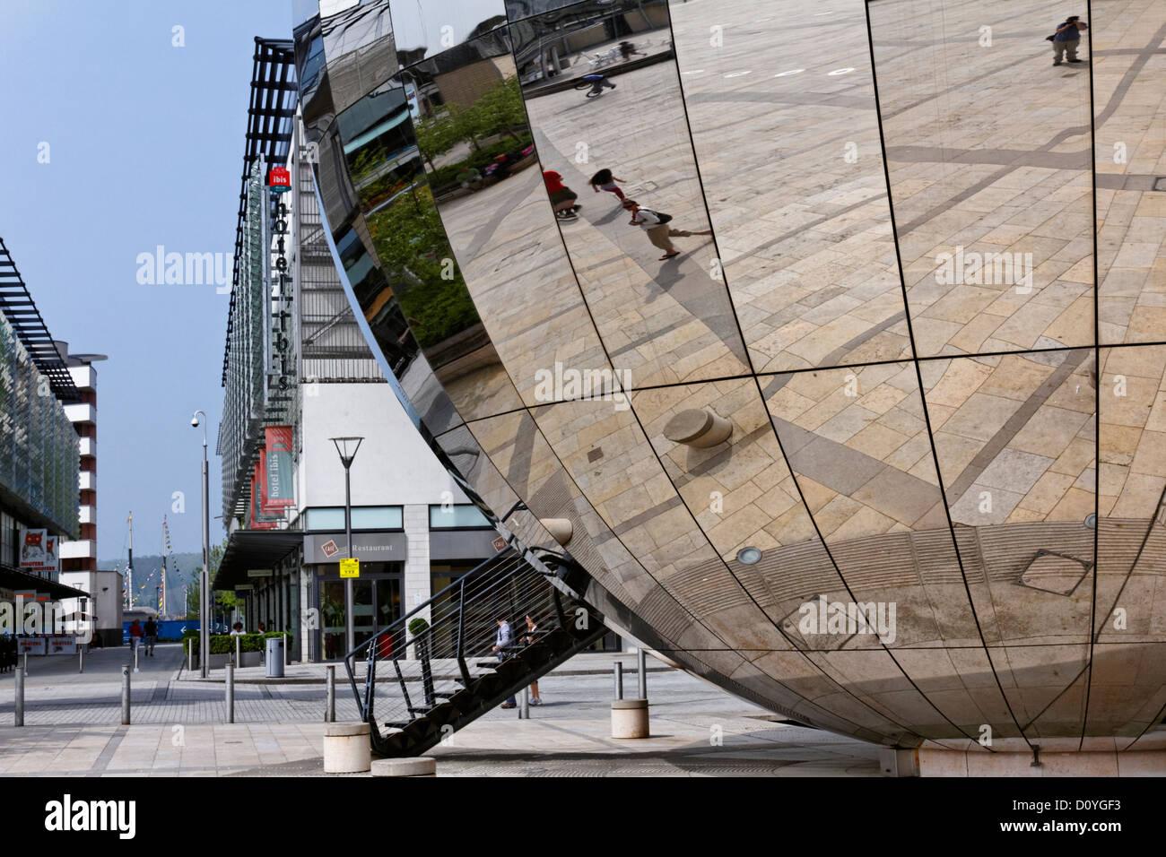 The Planetarium in Millenium Square, Bristol, Somerset, England - Stock Image