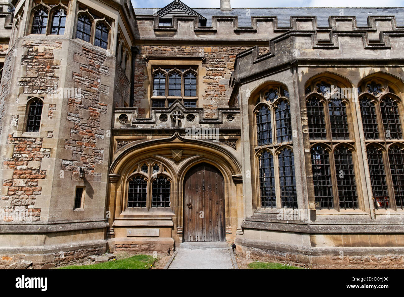 The Music Faculty, Wells Cathedral School, Wells, Somerset, England - Stock Image