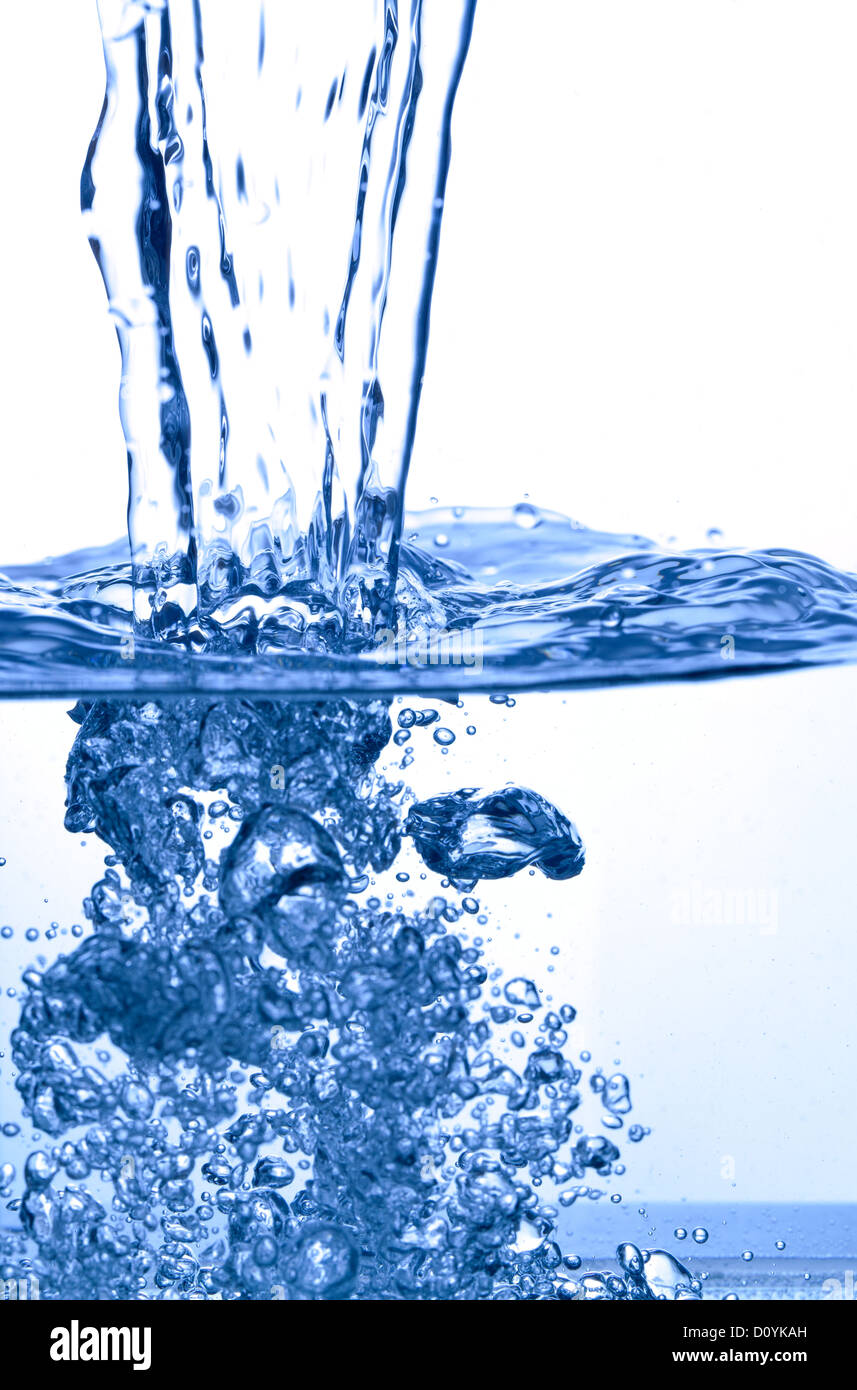 water splash - Stock Image
