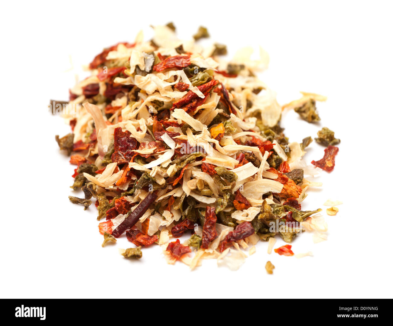 multi-colored spices - Stock Image