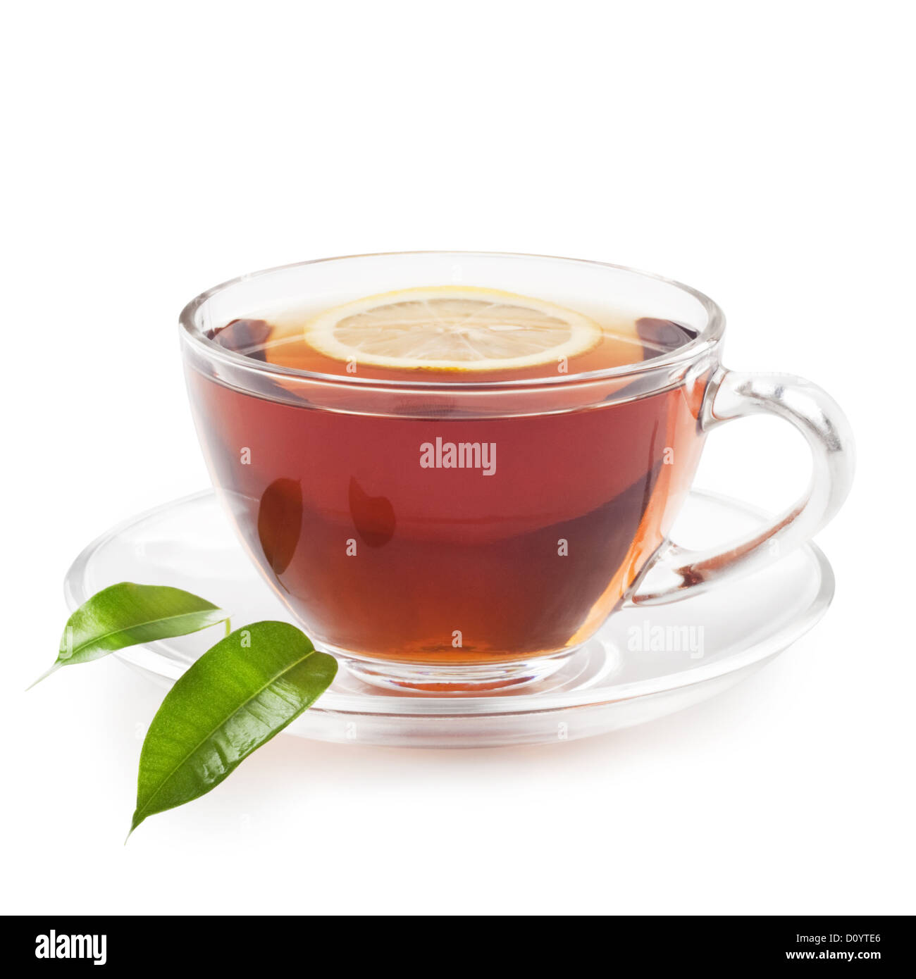 black tea - Stock Image