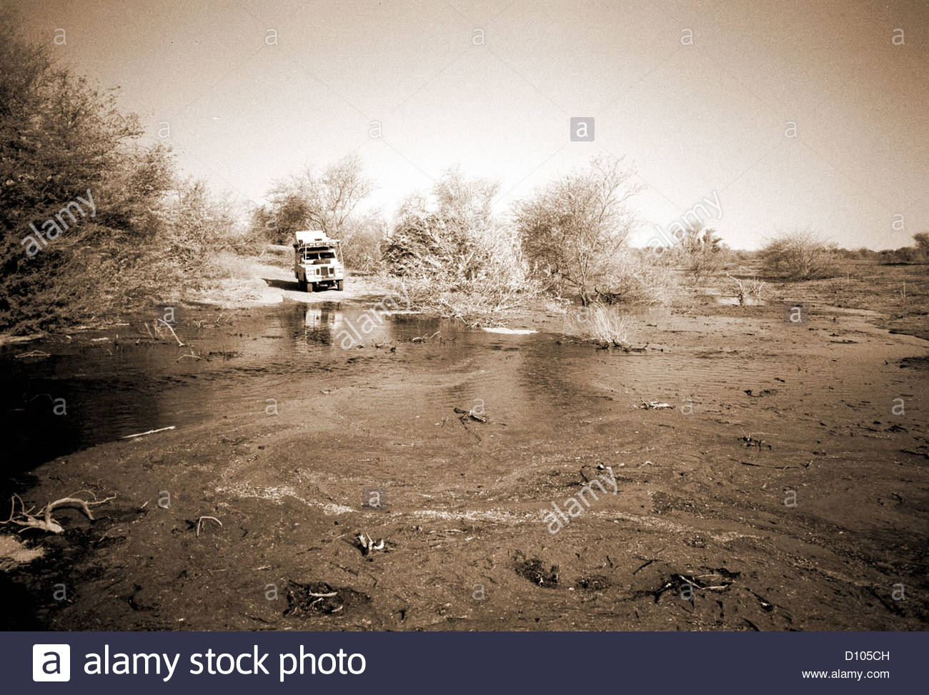 lake chad tchad lakes african africa africans sah - Stock Image