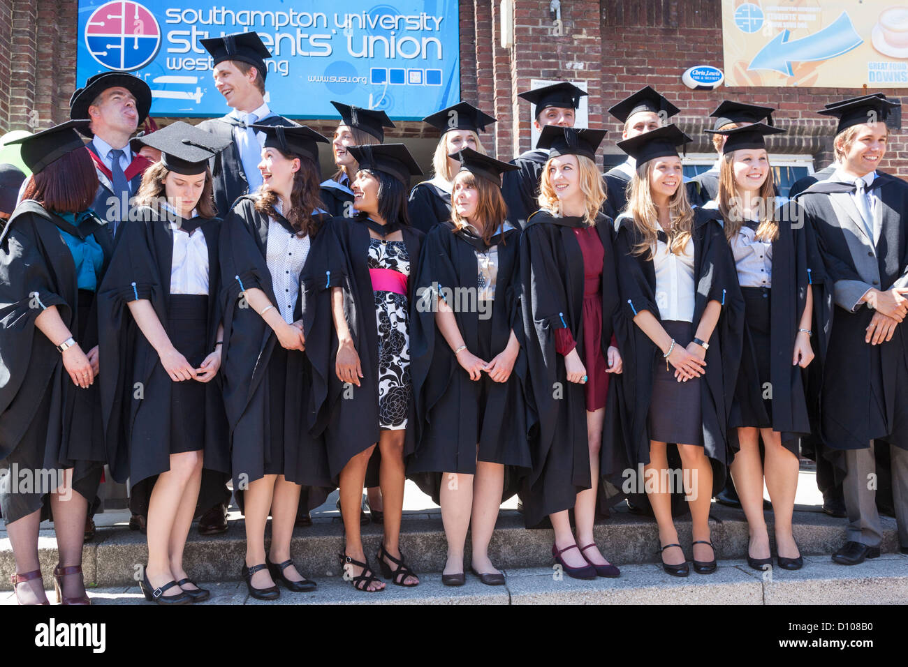 University Of Southampton Graduation High Resolution Stock Photography And Images Alamy