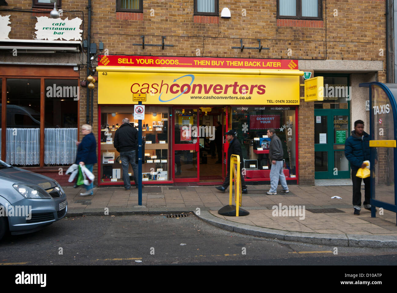 Cashconverters Shop UK - Stock Image