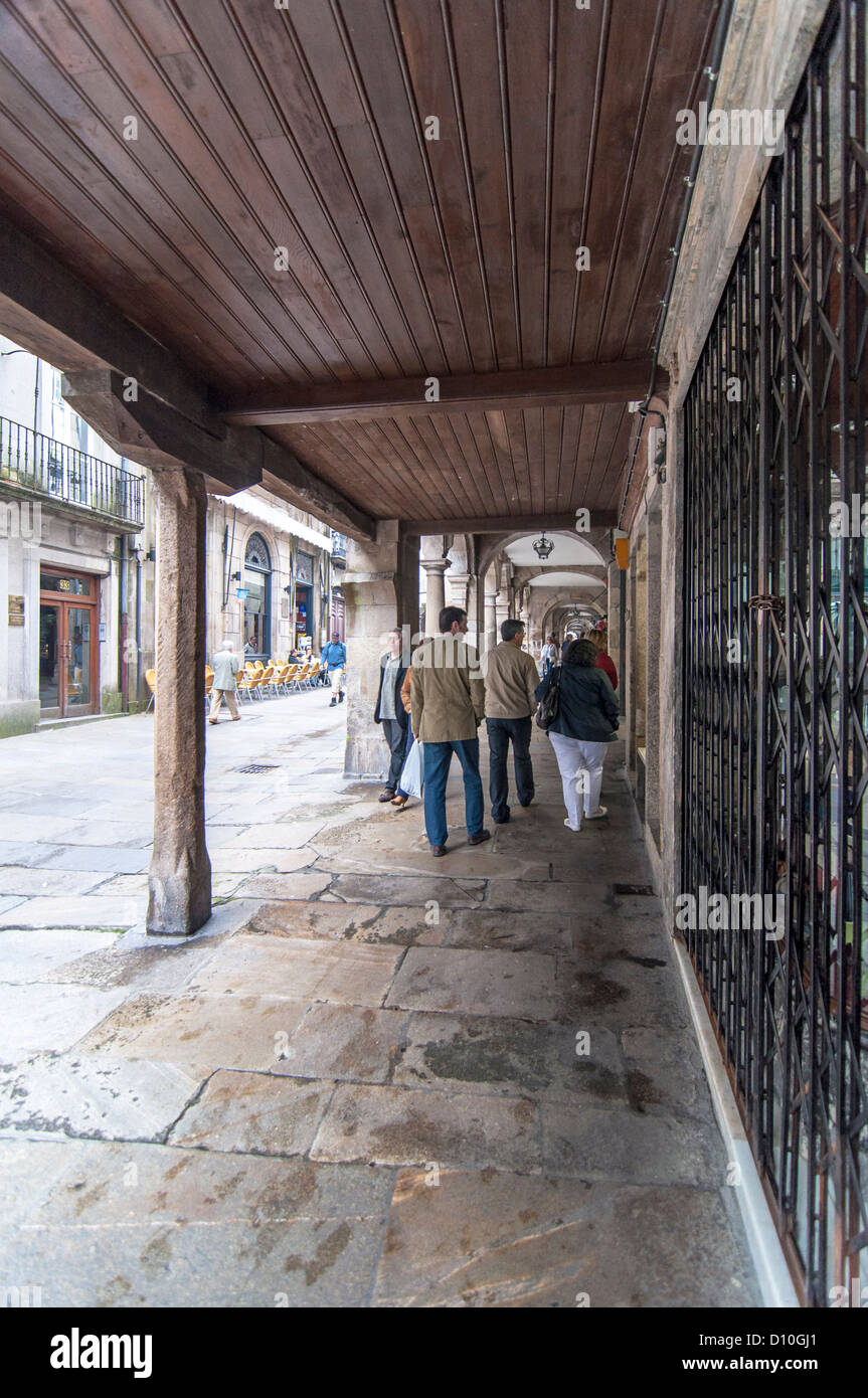 Santiago de Compostela. Galicia. Spain - Stock Image