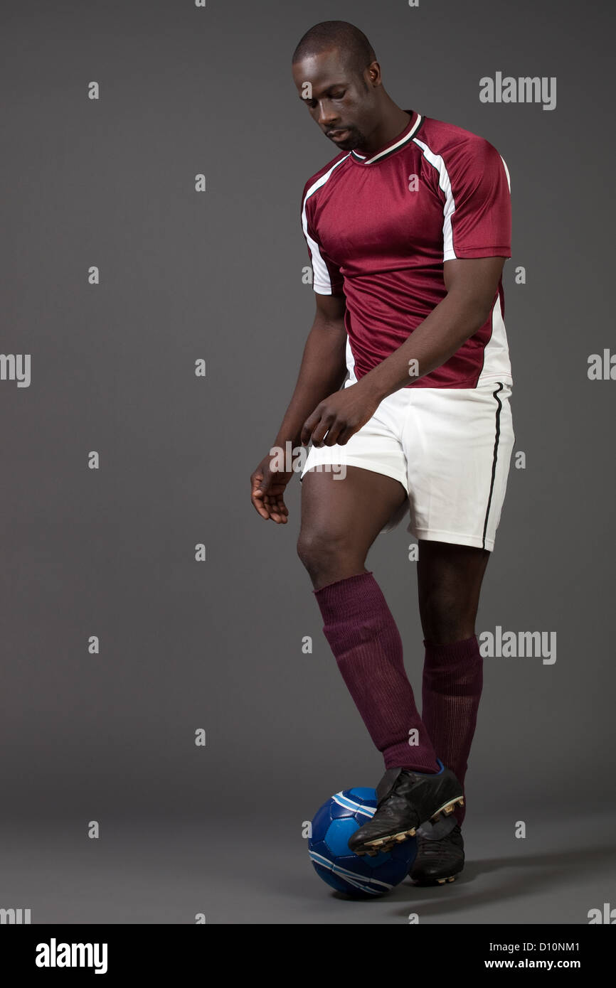 Soccer Player - Stock Image