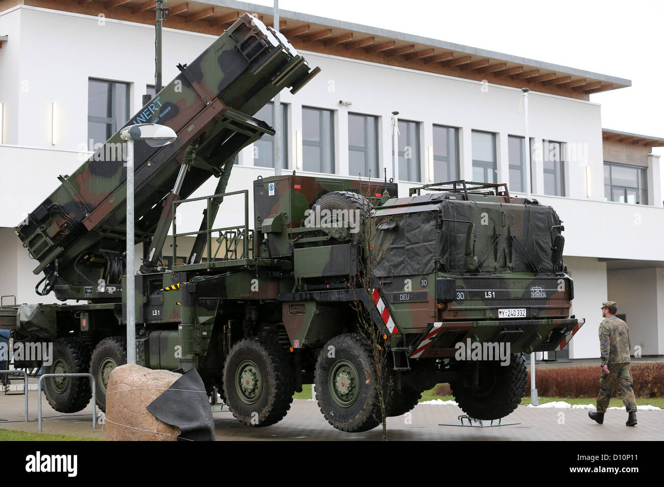 A PAC 3 patriot missile system firing device also intended