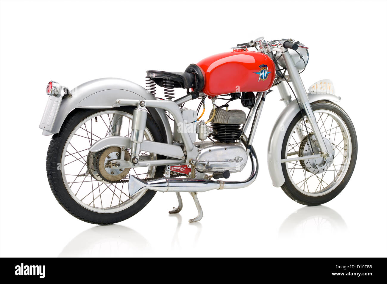 1953 MV Agusta 150 S motorcycle - Stock Image