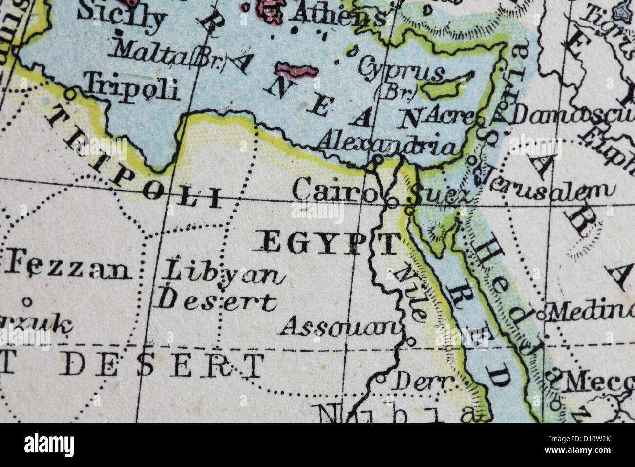 Suez C Stock Photos & Suez C Stock Images - Alamy Suez C Map on