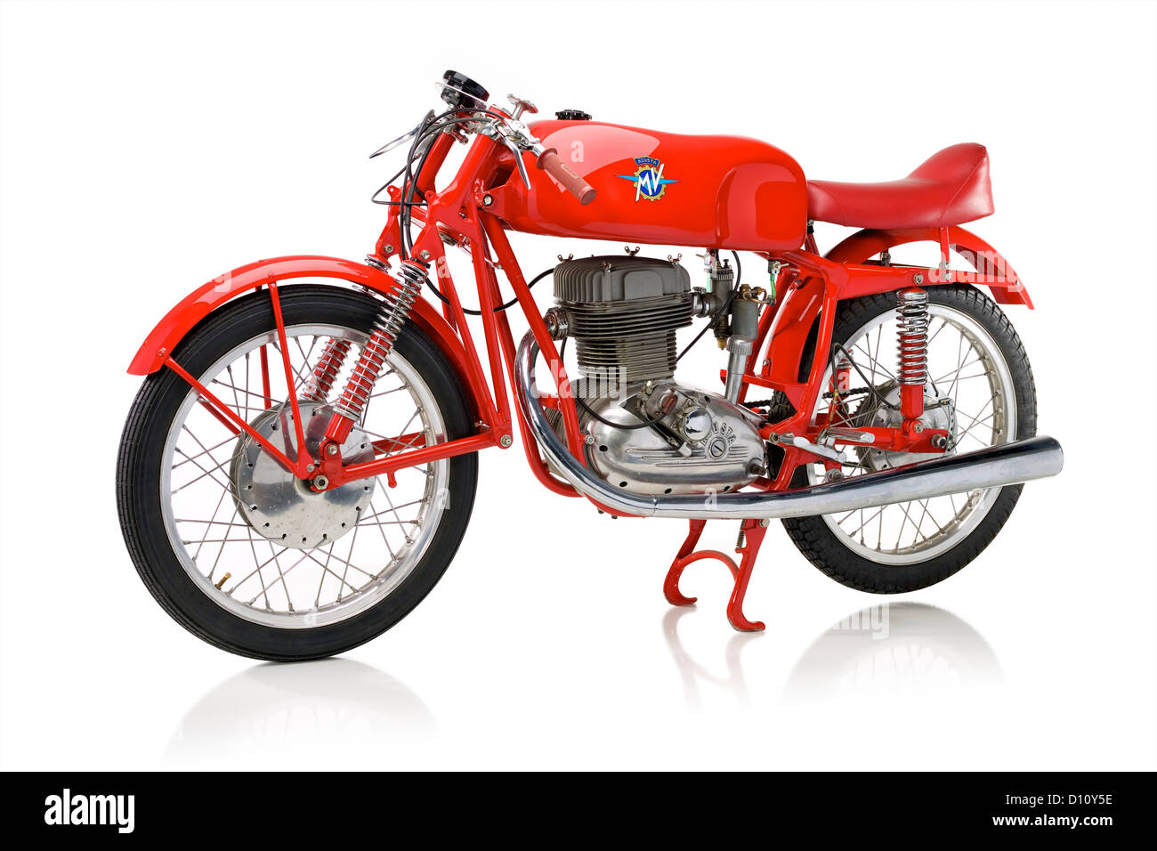 1956 MV Agusta CSS Squalo motorcycle - Stock Image