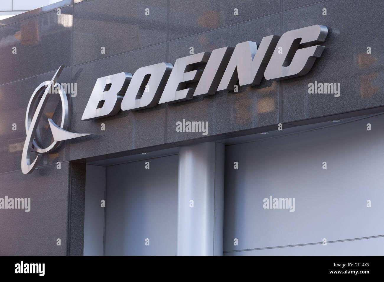 Boeing logo - Stock Image