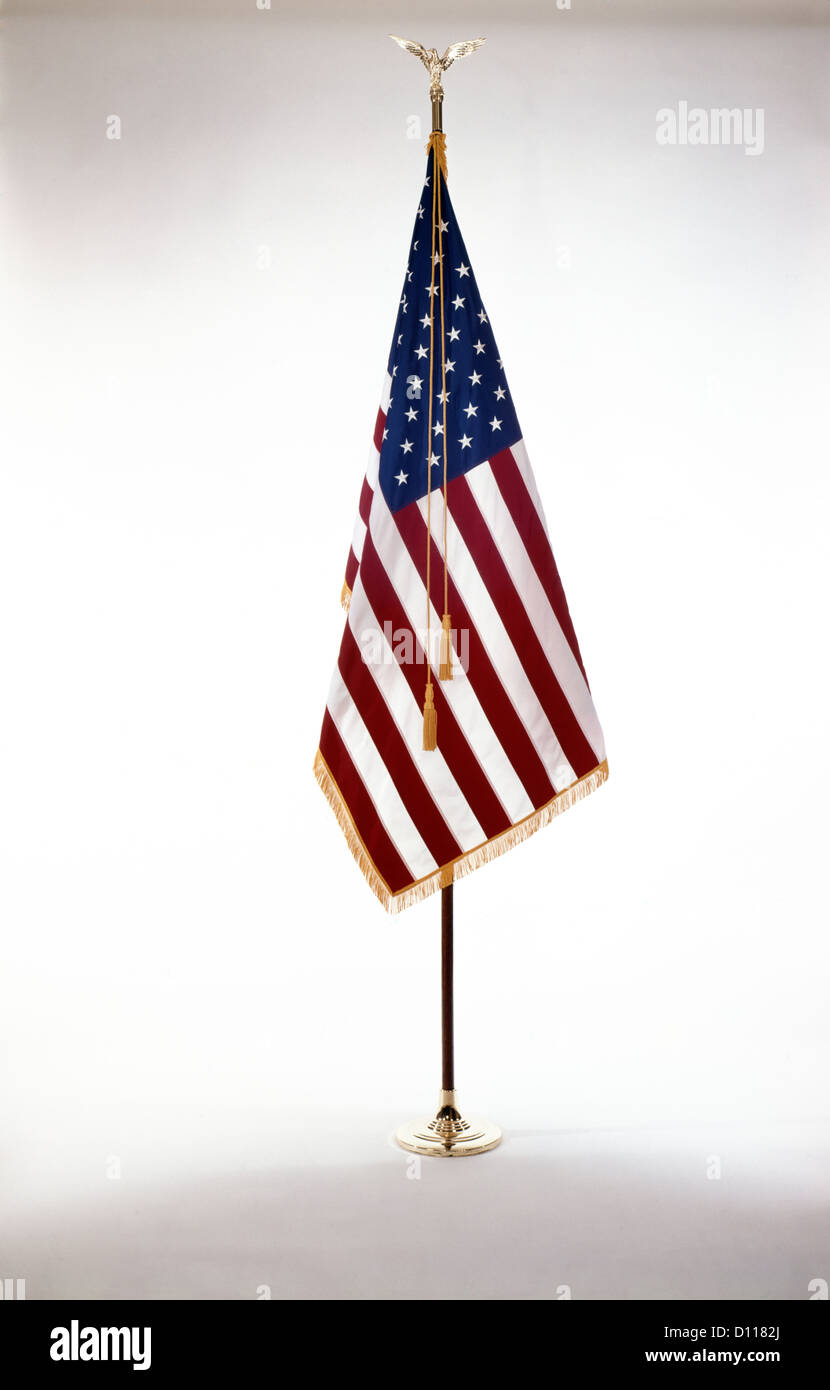 AMERICAN FLAG - Stock Image