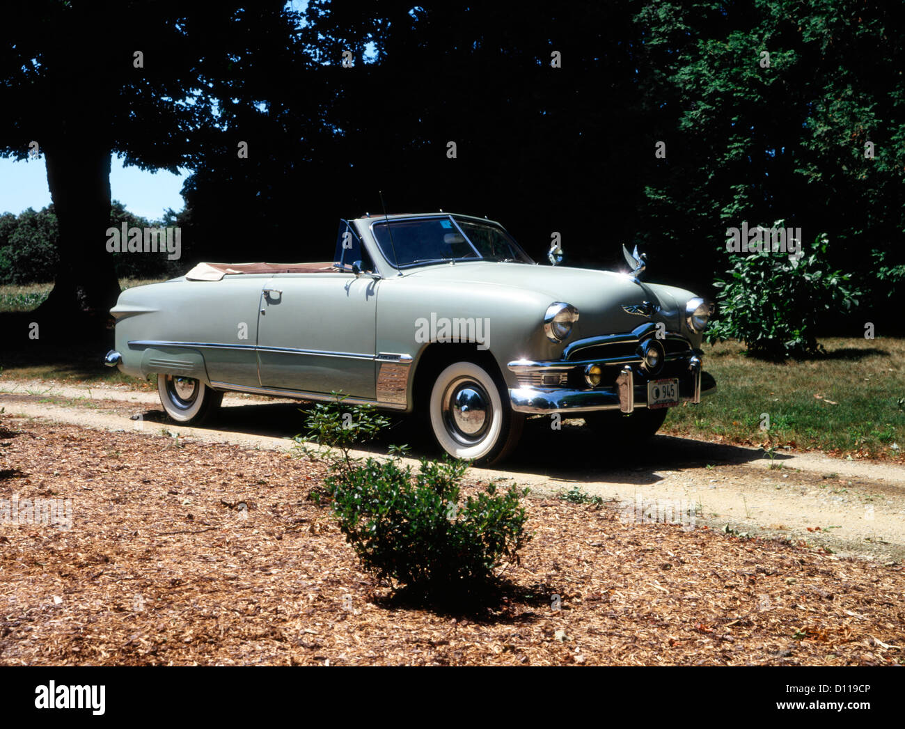 1950 Ford V8 Custom Deluxe Convertible Stock Photo Alamy