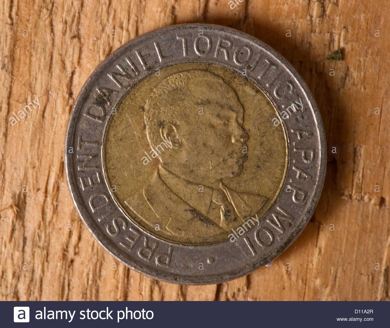 African money Kenya shillings Kenyan Stock Photo