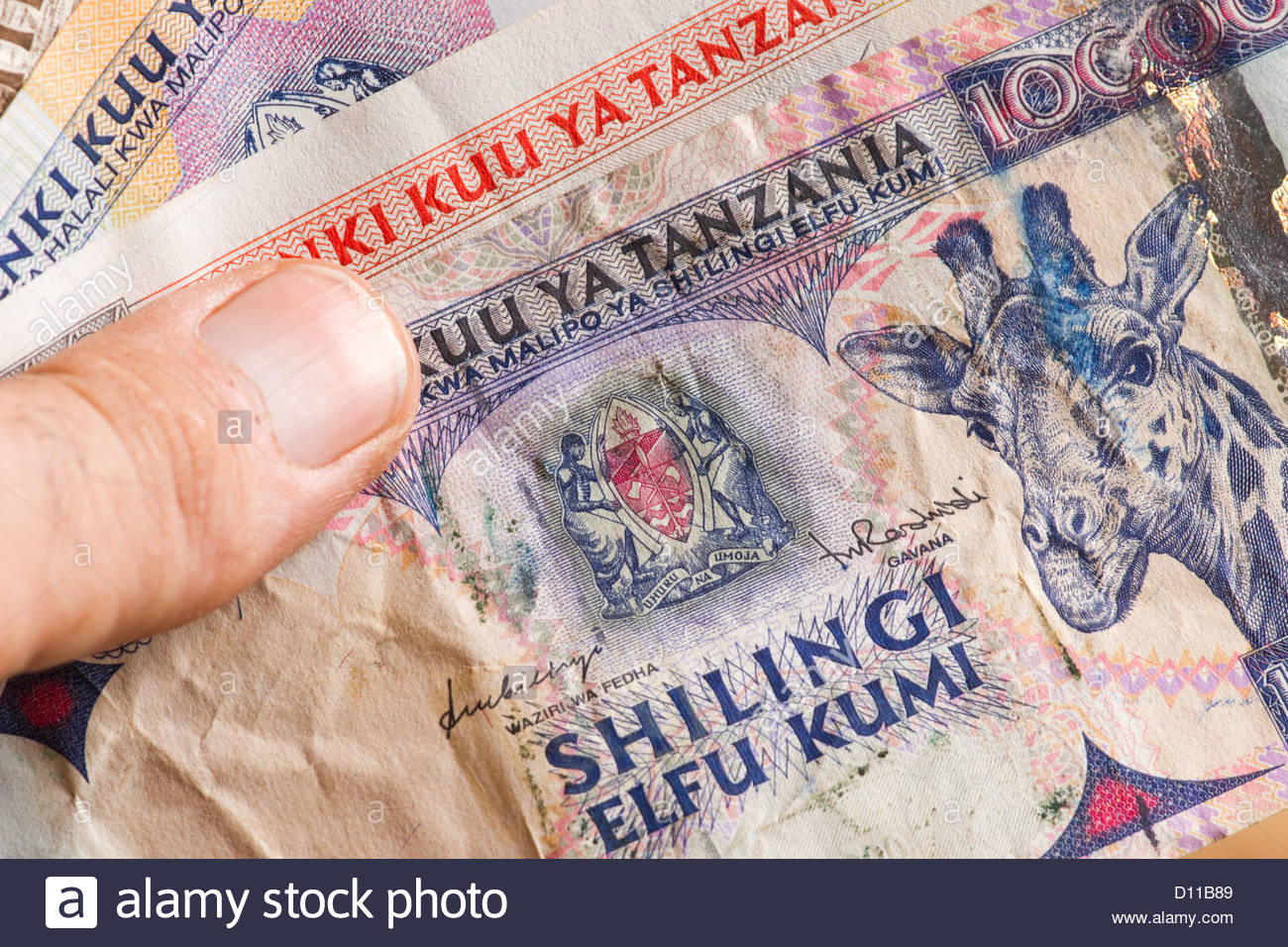 african money banknote banknotes cash bill busine Stock Photo
