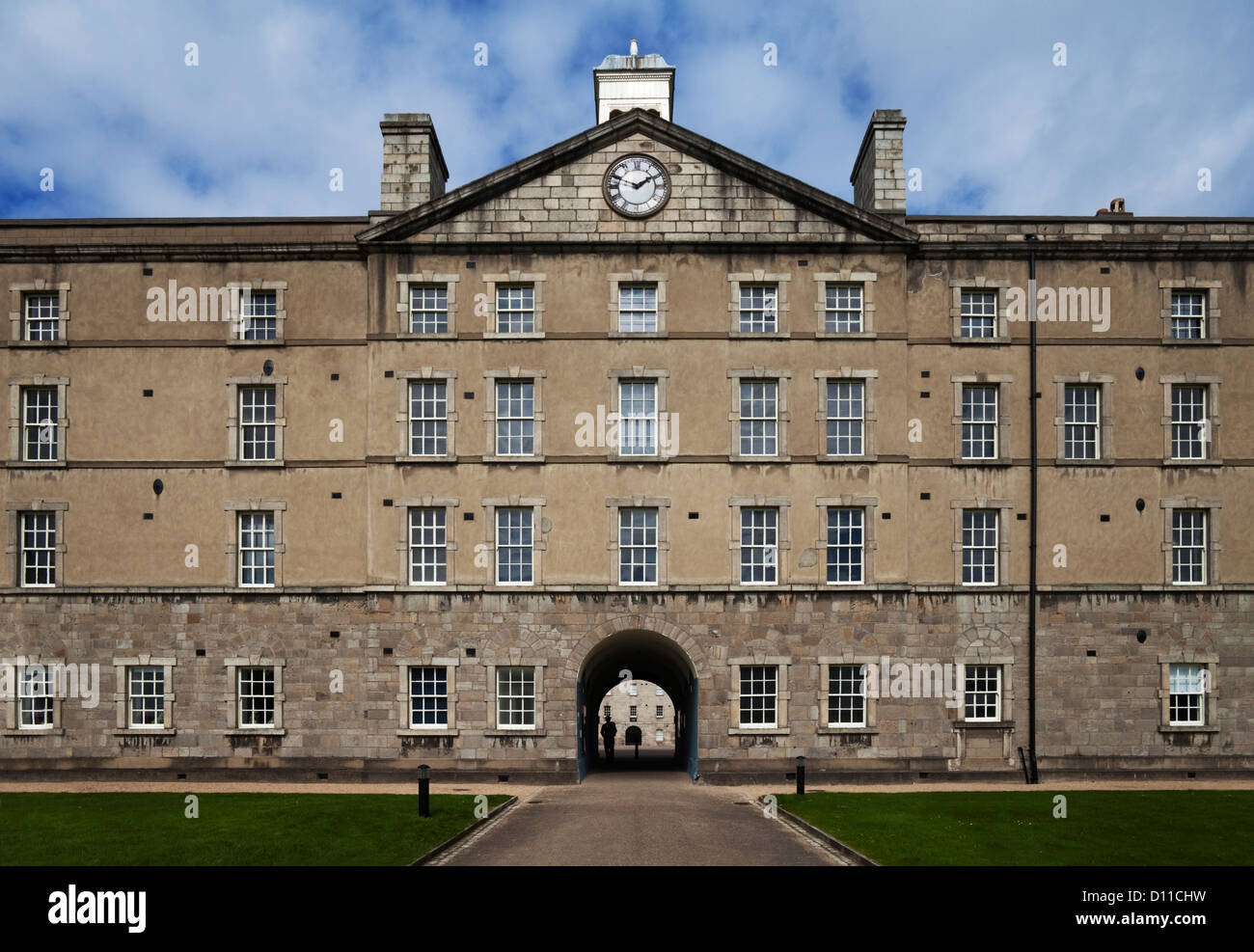 National Museum of Ireland, The Collins (former British Royal Barracks) Barracks completed in 1704, Arbour Hill, - Stock Image