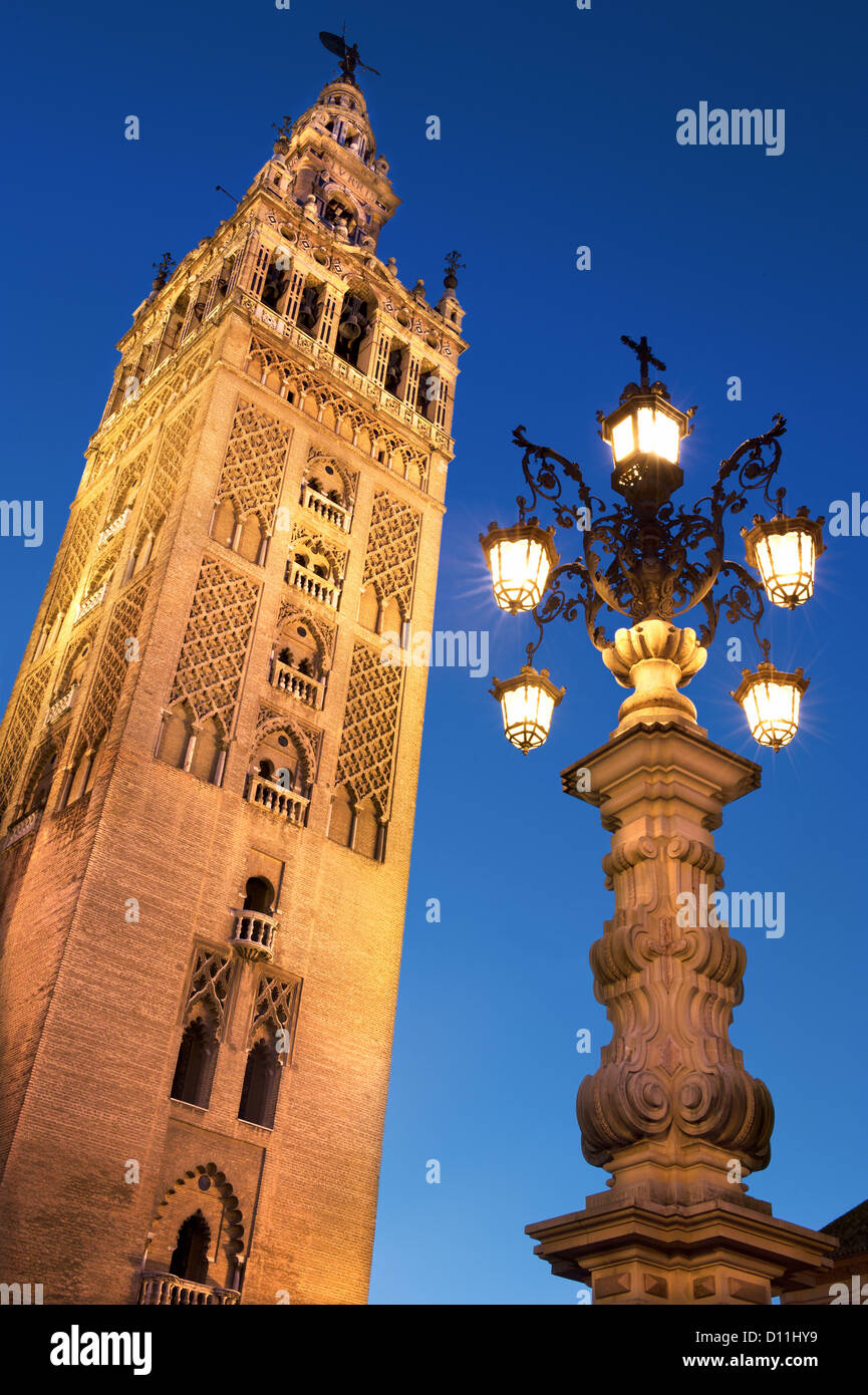 Giralda Tower,Seville,Andalusia,Spain. - Stock Image