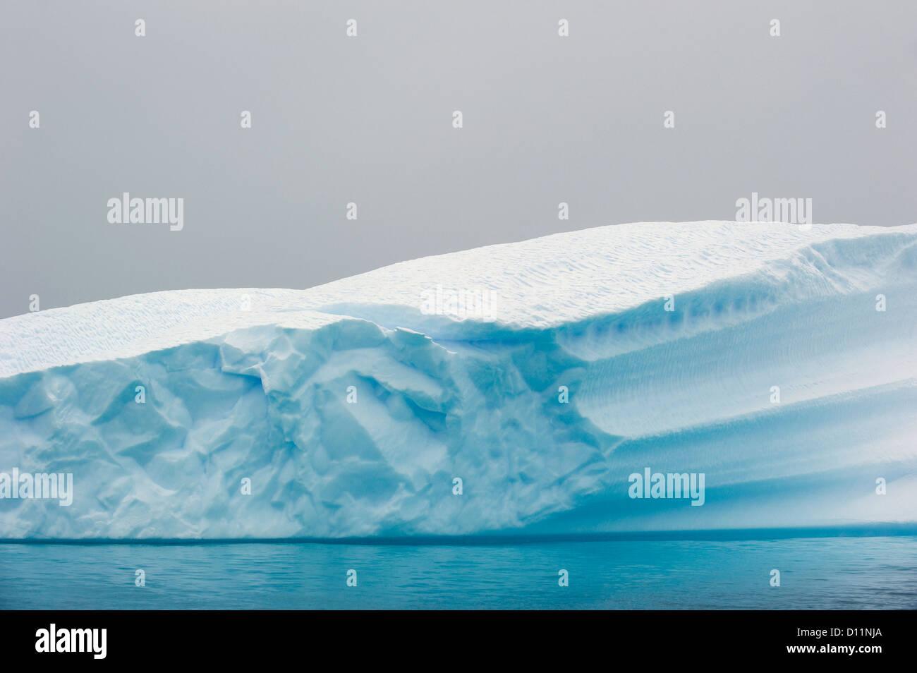 Iceberg; Antarctica - Stock Image