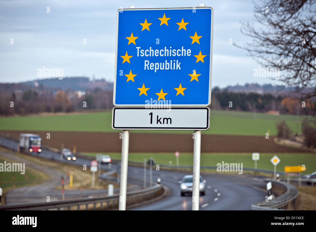 german czech border high resolution stock photography and