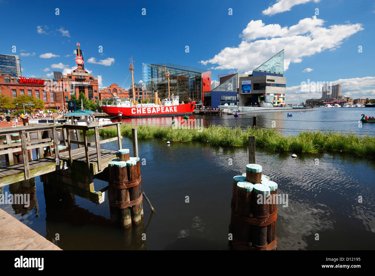 Baltimore view - Stock Image