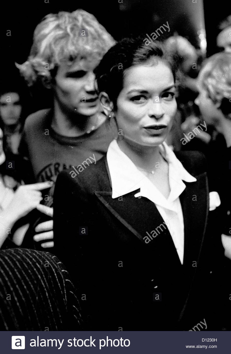 bianca jagger portrait famous people person perso Stock Photo