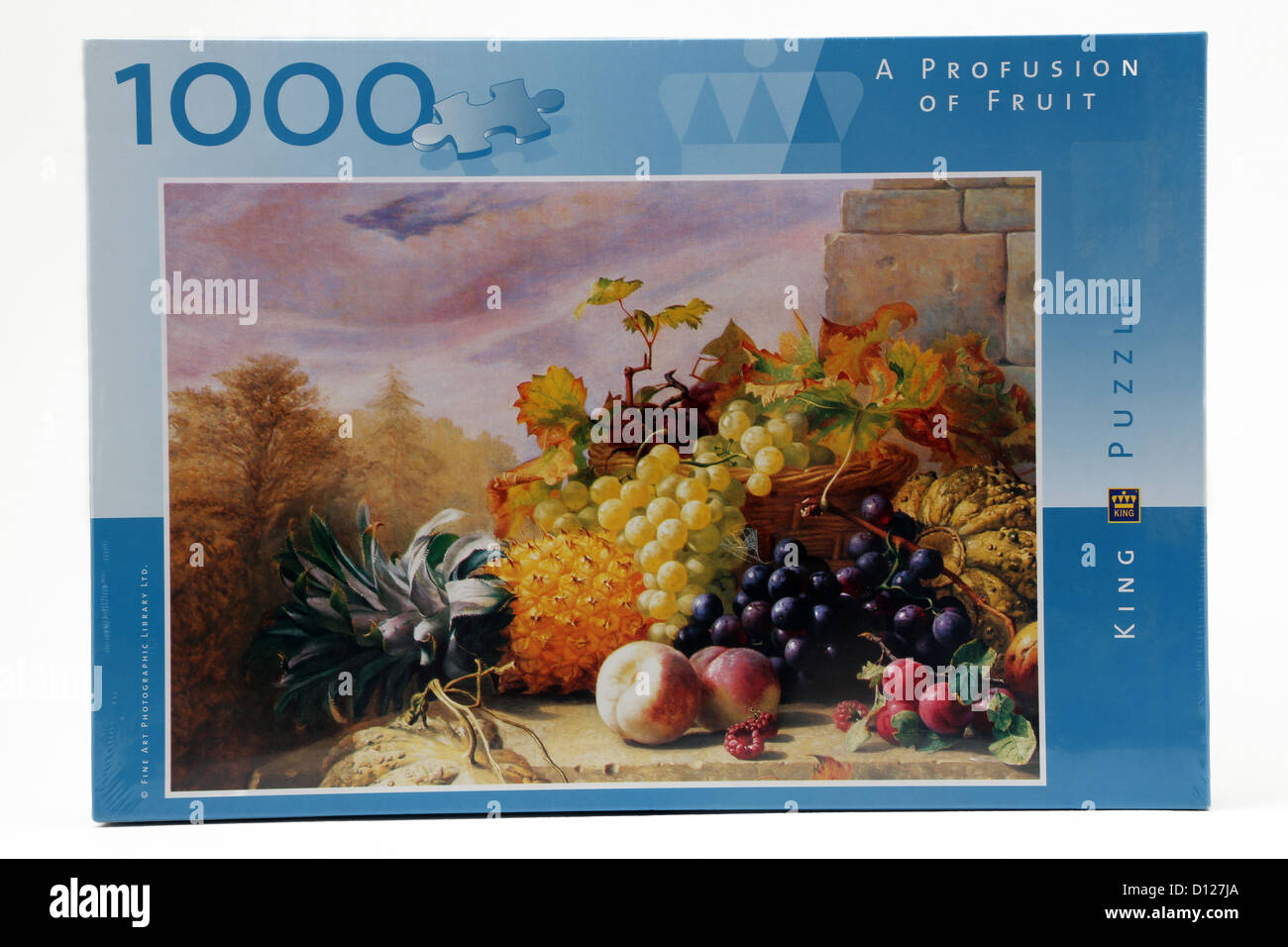 1000 Piece Jigsaw Puzzle Of Fruit - Stock Image