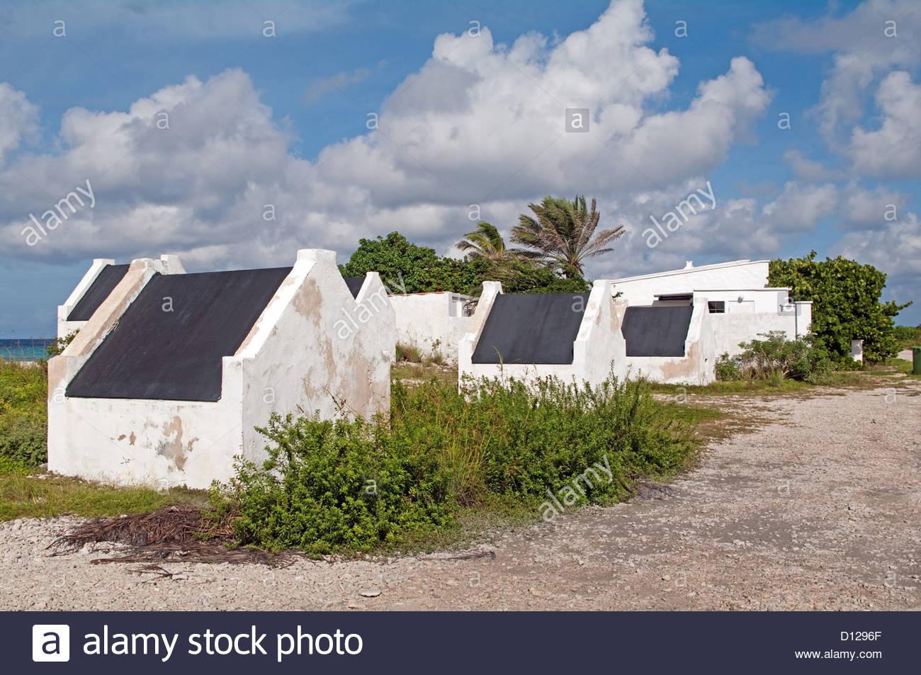 Bonaire Caribbean West Indies Slave Huts Living Quarters
