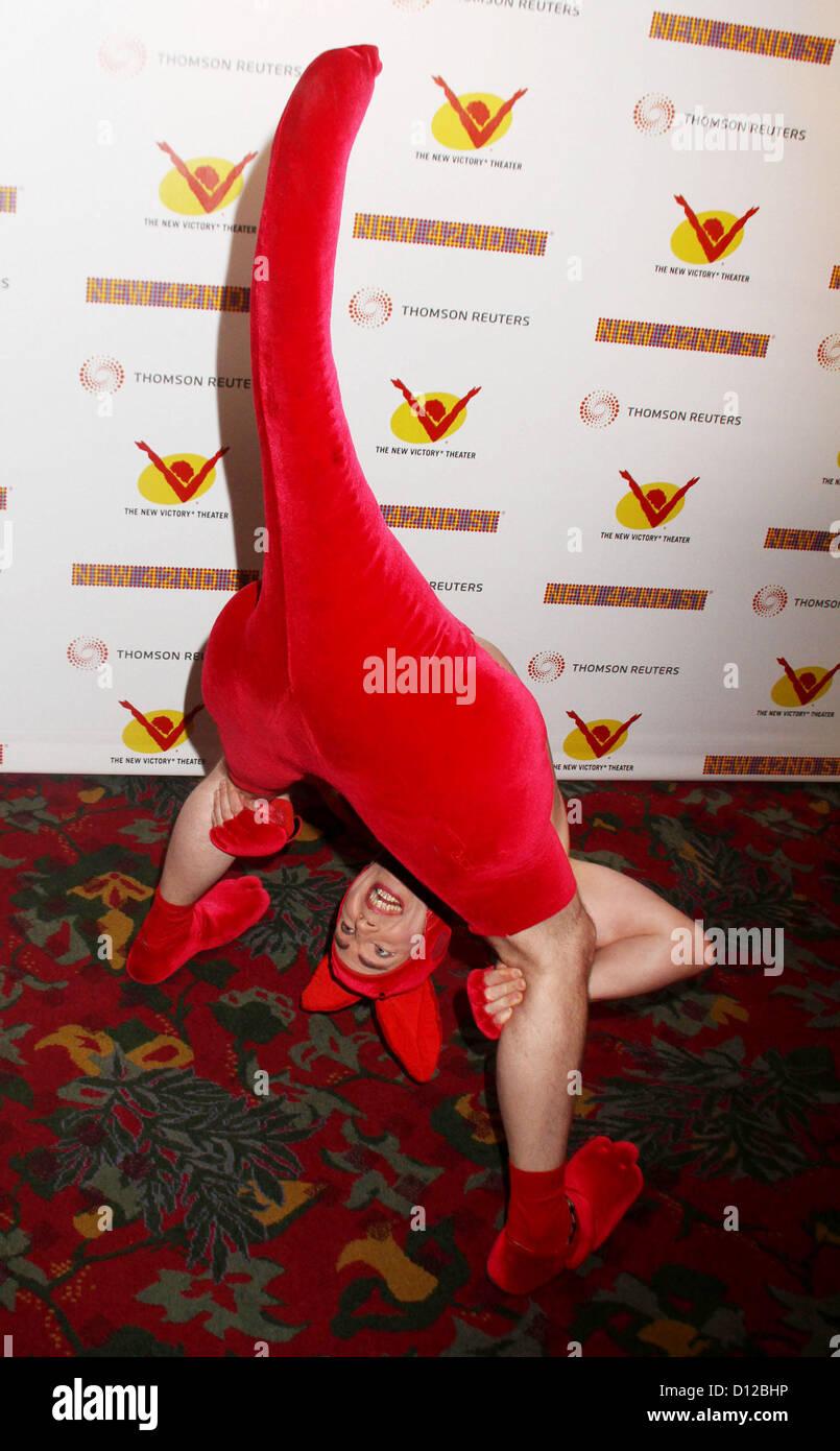 Dec. 5, 2012 - New York, New York, U.S. - A KANGAROO character attends the New 42nd Street Gala, To Honor Australia - Stock Image