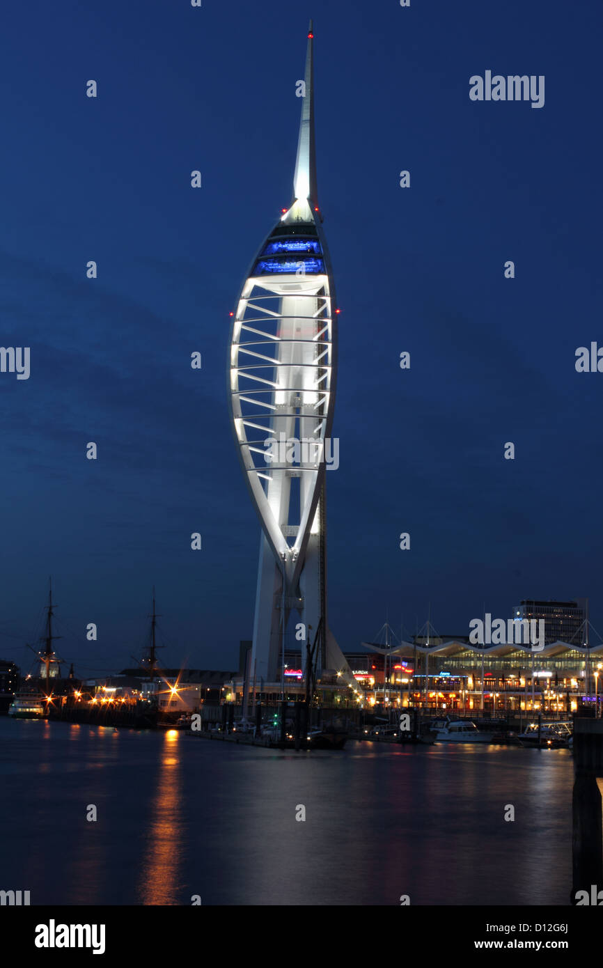 Spinnaker Tower Stock Photo