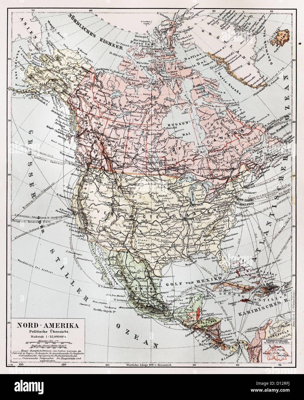 north america map stock photos north america map stock images