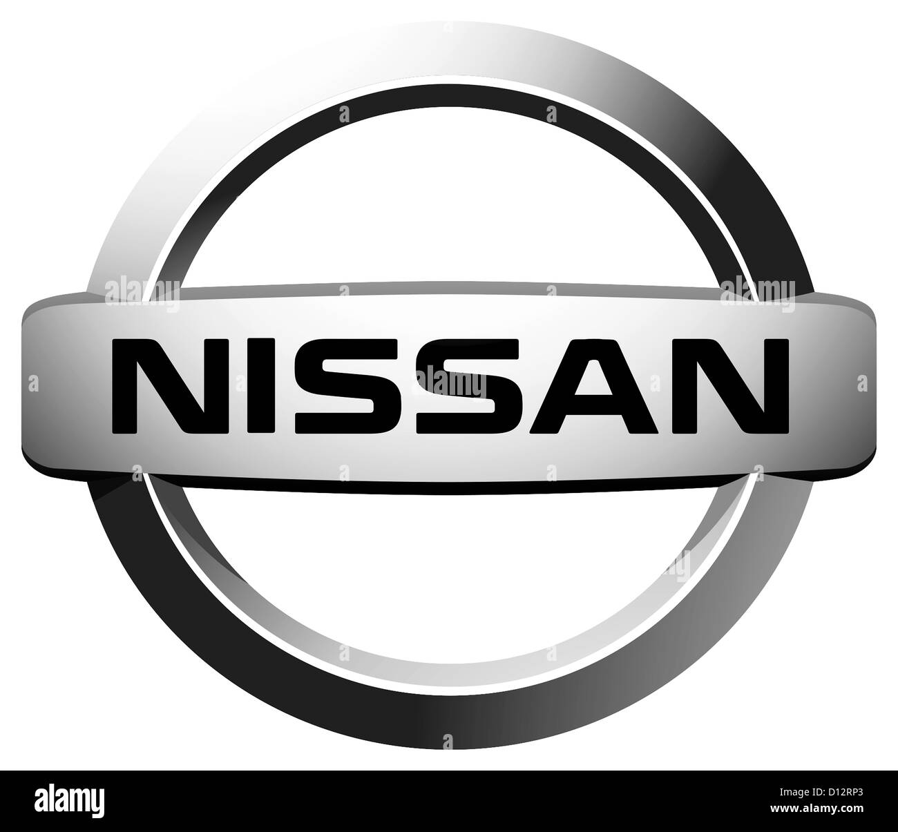 Company Logo Of Japanese Automotive Corporation Nissan With Seat In