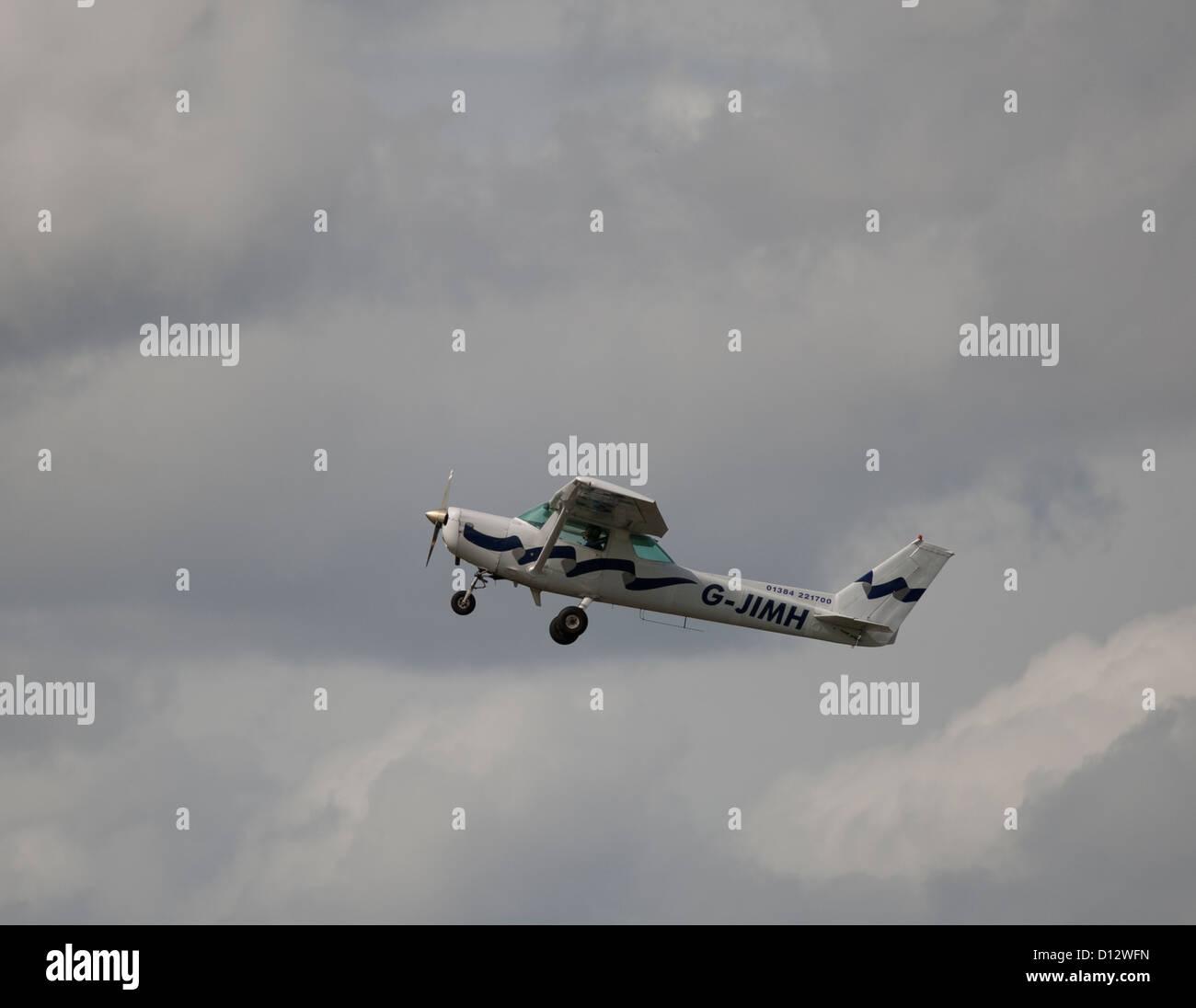 Cessna F.152 II Twin Seater Light Private Aeroplane.  SCO 8853 - Stock Image