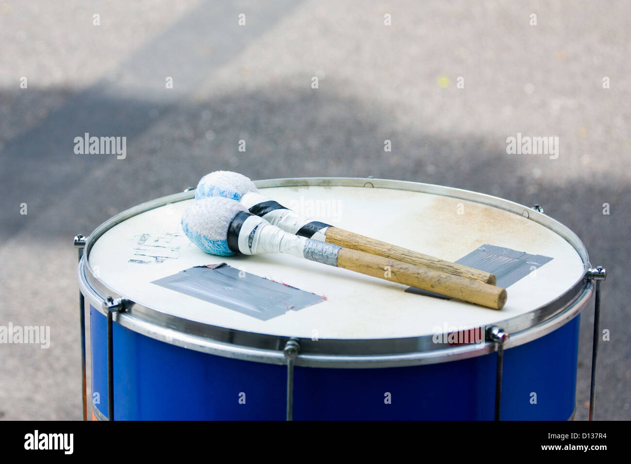 Berlin, Germany, Timpani with repression Egeln - Stock Image
