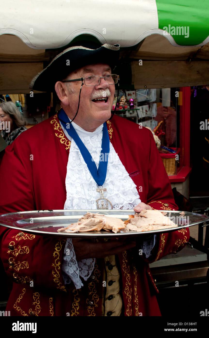 Warwick Mop fair - Stock Image