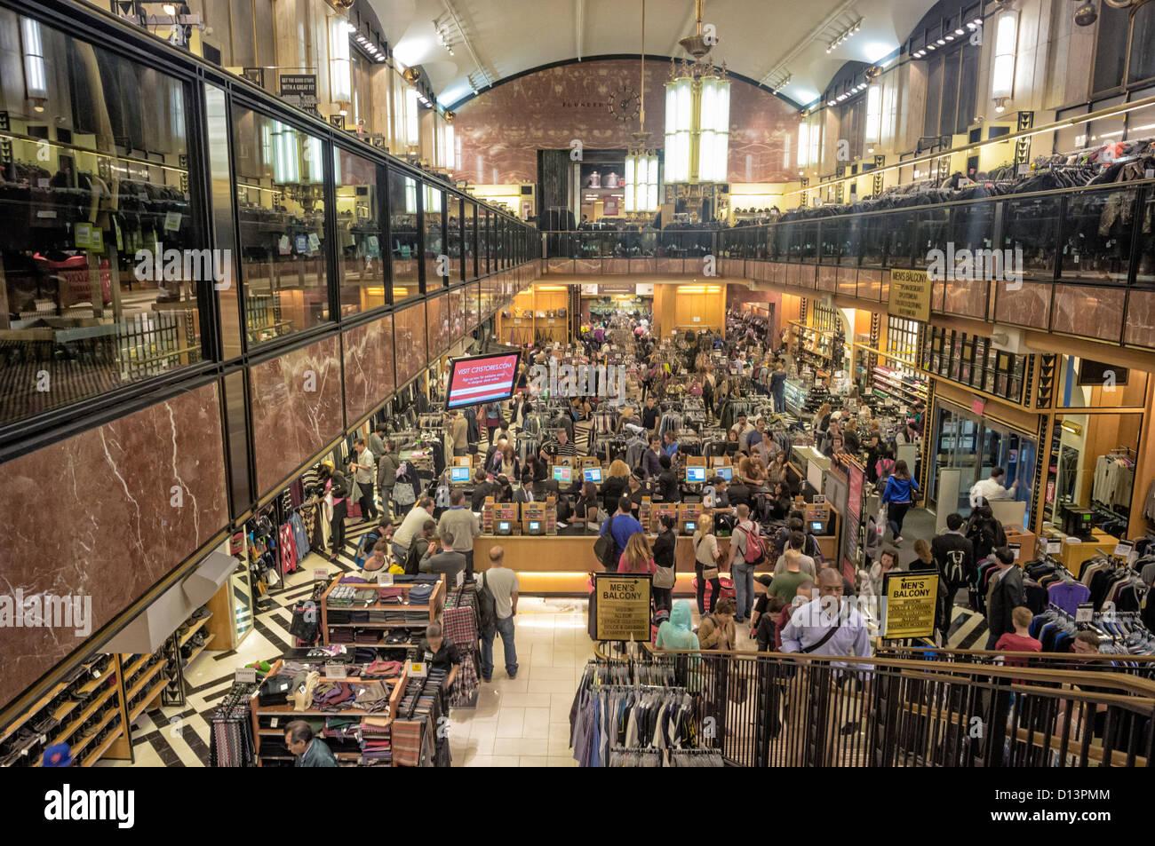 Century 21 Store In Manhattan New York Stock Photo Alamy