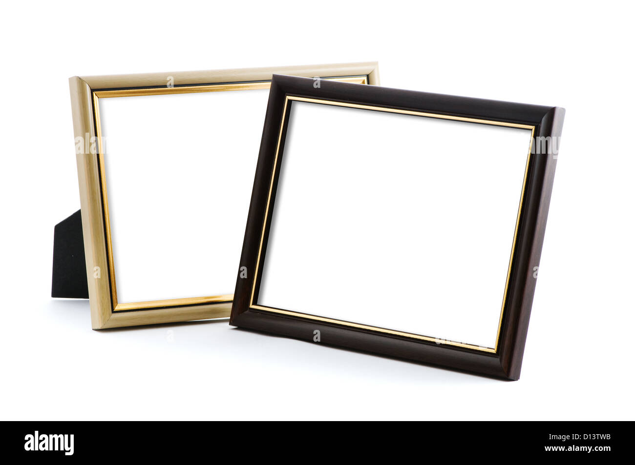 photo frames with empty space - Stock Image