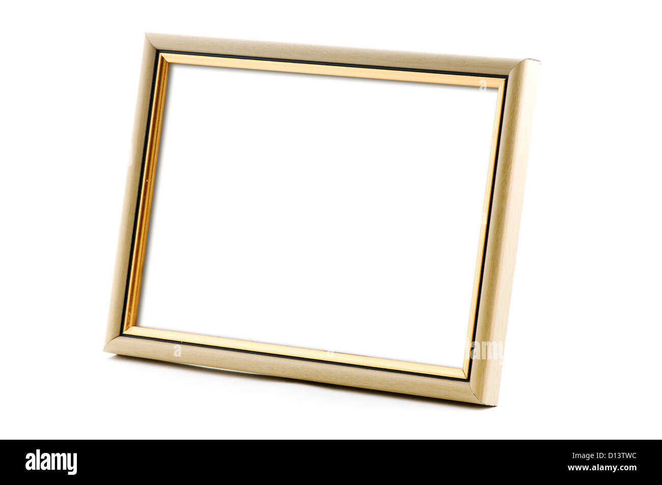 photo frame with empty space - Stock Image