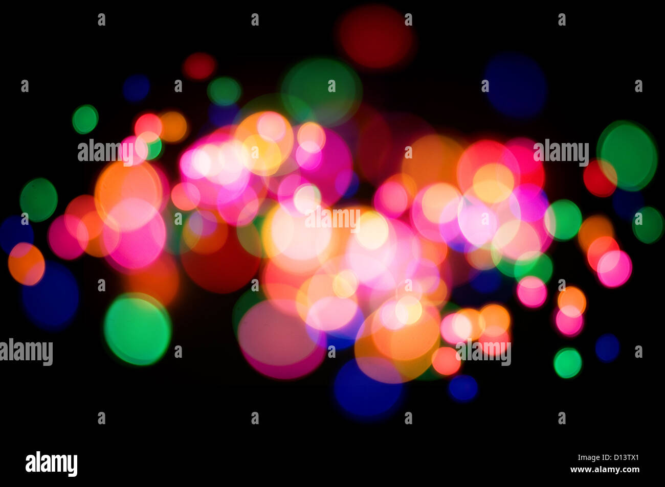 Abstract lights background - Stock Image