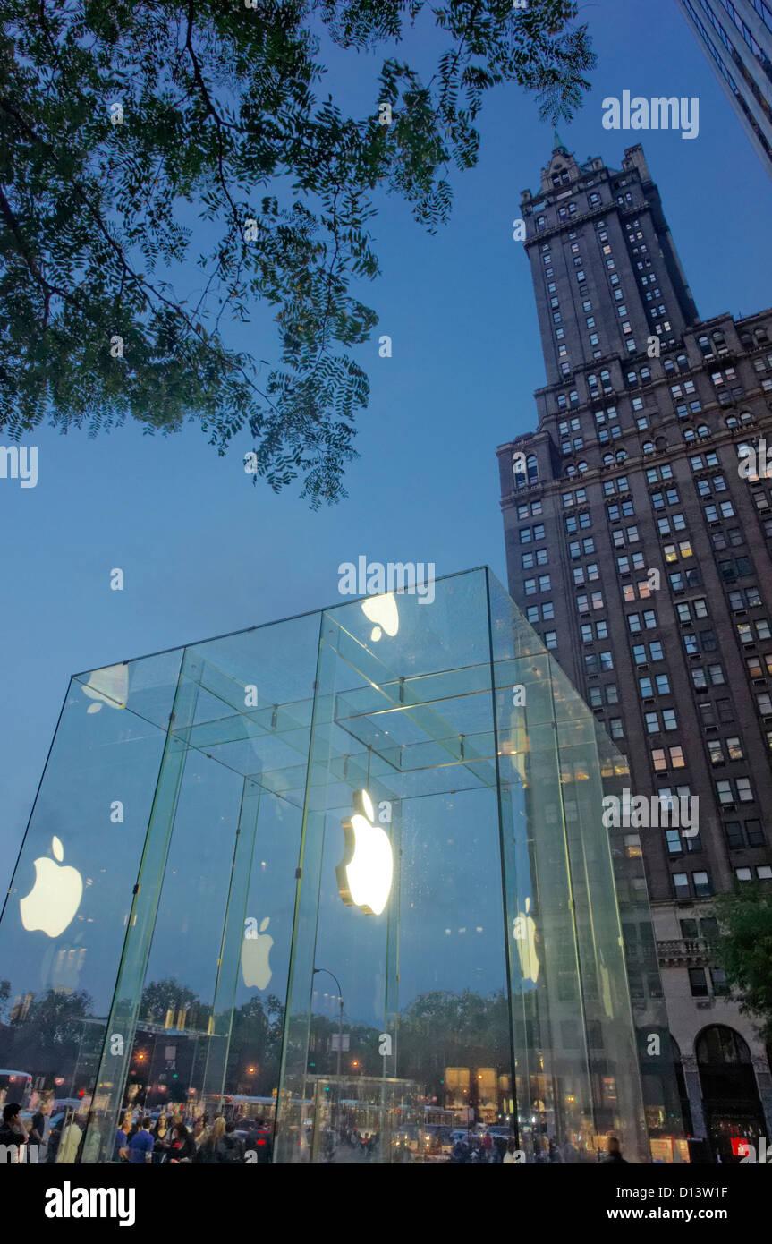Store NYC 24 Stunden Apple